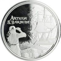 Srebrna moneta Antigua & Barbuda / Rum Runner  II (EC8) 1 oz 2019 r.