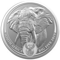 Srebrna moneta  Big Five Elephant   1 oz  2019  r.