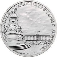 Srebrna moneta Buckingham Palace / Landmarks of Britain    1 oz   2019