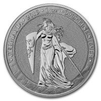 Srebrna moneta Germania 1 oz 2019