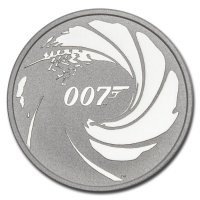 Srebrna moneta  James Bond 007  1 oz   2020