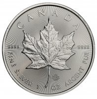 Srebrna moneta  Liść Klonu   (Maple Leaf)      1 oz   2017  r