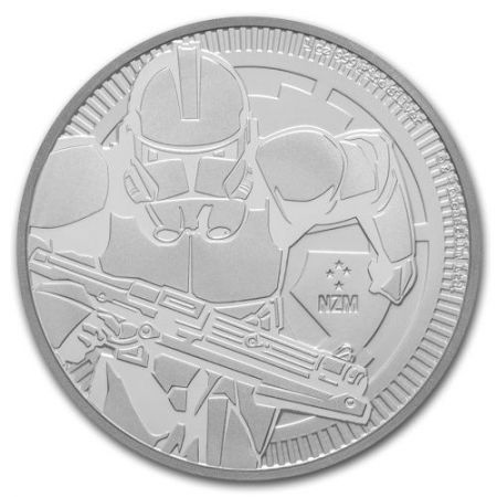 Srebrna moneta  STAR WARS - Clone  Trooper 1 oz   2019 r