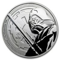 Srebrna moneta  STAR WARS - Darth Vader   1 oz   2018 r
