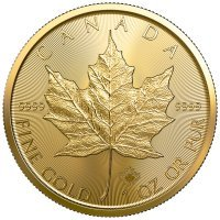 Złota moneta  Liść Klonowy (Maple Leaf )  1 oz - 2020 r